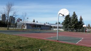 spruce cliff basketball court