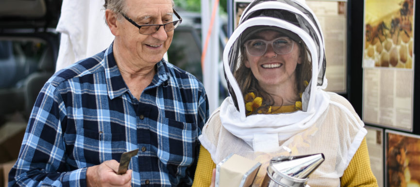 Celebrating Micro Farmers with a Pollinator Party