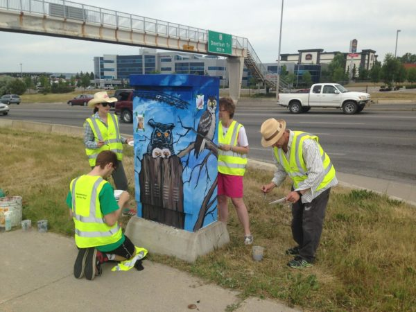Look Back: Public Art Erases Barriers in the Crossroads Community