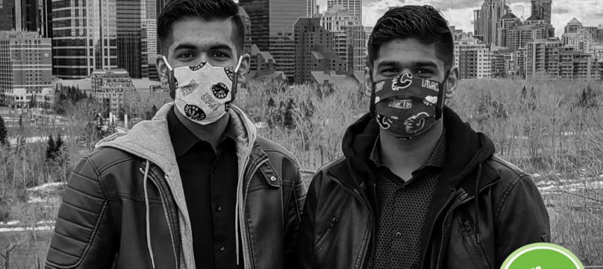 2021 Faces of Community - Sajin and Jovin Khunkhun